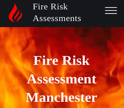 fire risk assessments manchester amp website